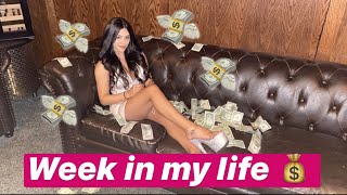 WEEK IN THE LIFE OF A STRIPPER (ALL-STAR WEEKEND)💰🌟