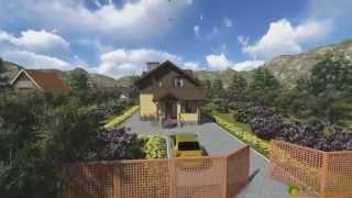 Проект дома из теплоблока ТБ 54 (132 м2)