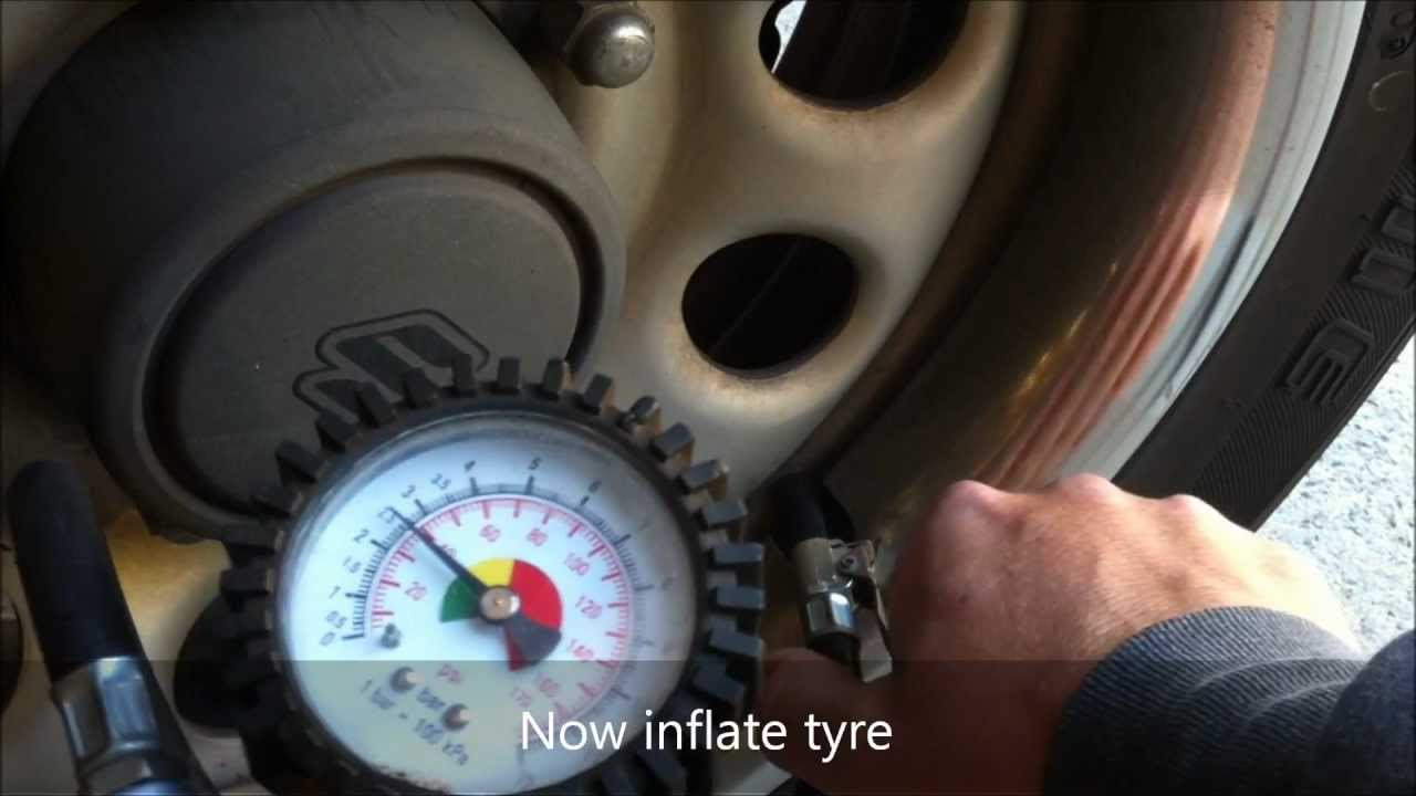 How To Change Tyre Valve Stem Core Youtube