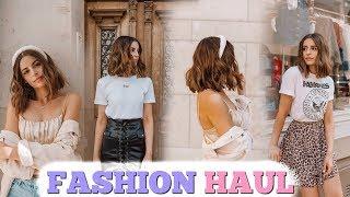 XL TRY-ON FASHION HAUL AUGUST 2019 🛍 | ZARA, MANGO, H&M & MEHR!