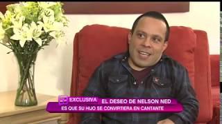 Hijo de Nelson Ned aparece en exclusiva en Ventaneando