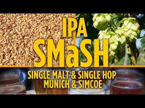 SMaSH IPA Munich Simcoe