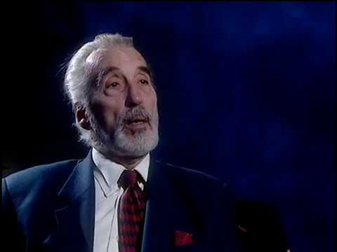 An Interview with Christopher Lee - September 4, 2001