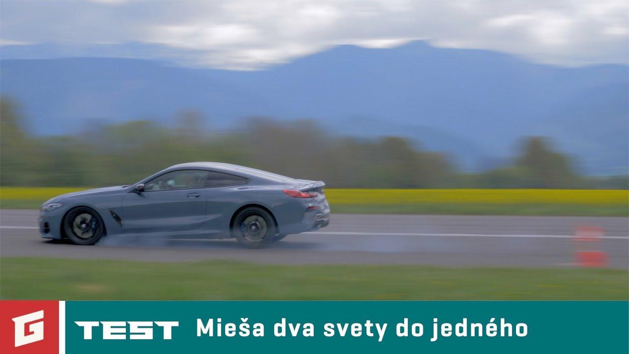 BMW M850i xDrive 2019 - TEST - Garaz.TV - Rasťo Chvála - YouTube