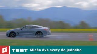 BMW M850i xDrive 2019 - TEST - Garaz.TV - Rasťo Chvála