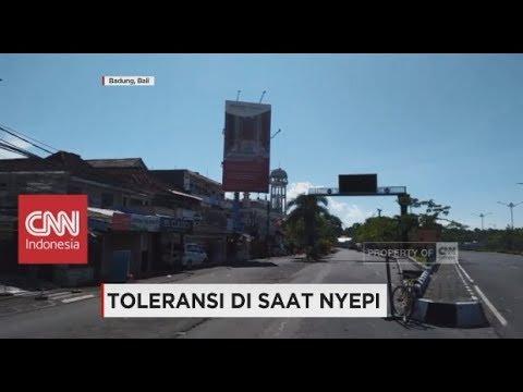 Toleransi Saat Hari Nyepi di Bali