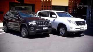 Jeep Grand Cherokee v Toyota Prado GXL | 4WD | Drive.com.au