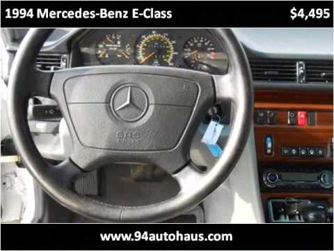 1994 mercedes benz e class used cars st charles mo youtube for Mercedes benz st charles mo