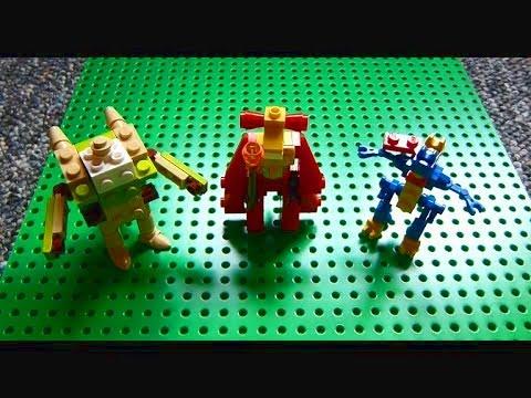 Lego Pokemon Instructions Part 18 Chesnaught Delphox And