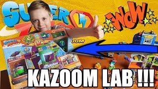 KAZOOM LAB - PROFESOR K vs ENIGMA ! SUPER ZINGS