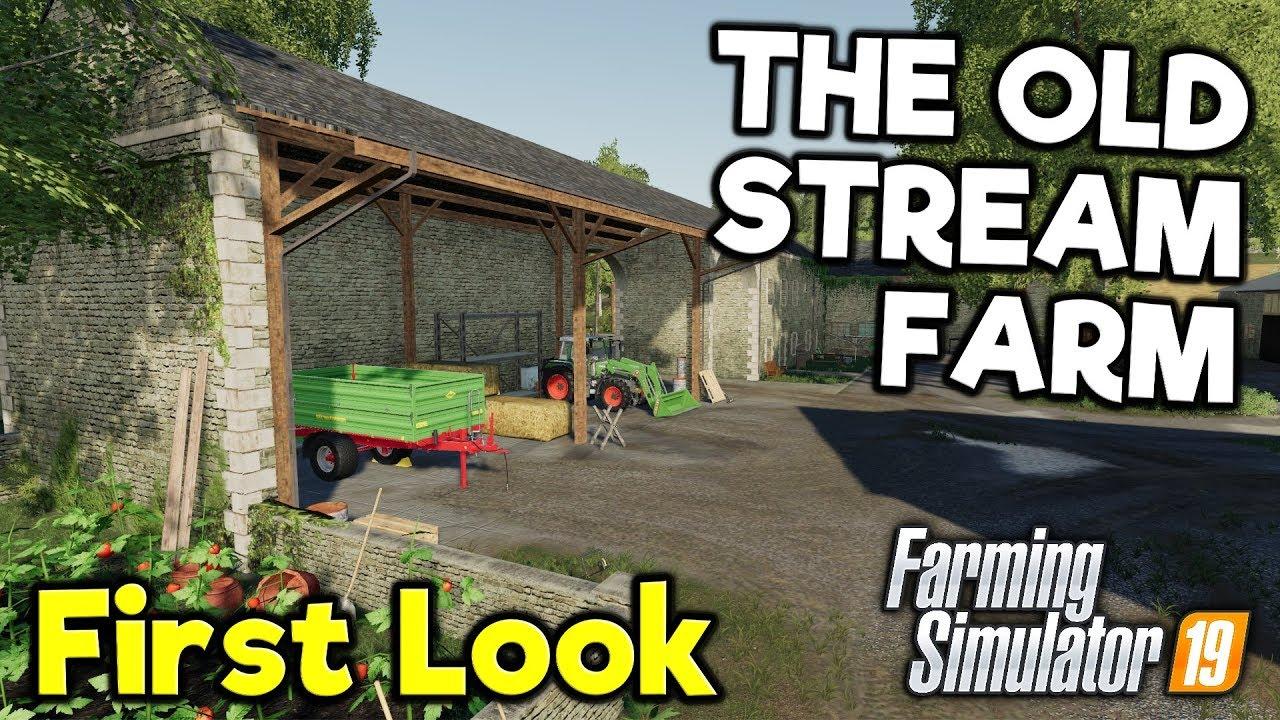 THE FARM OF THE 70'S   The Old Stream Farm - FS19
