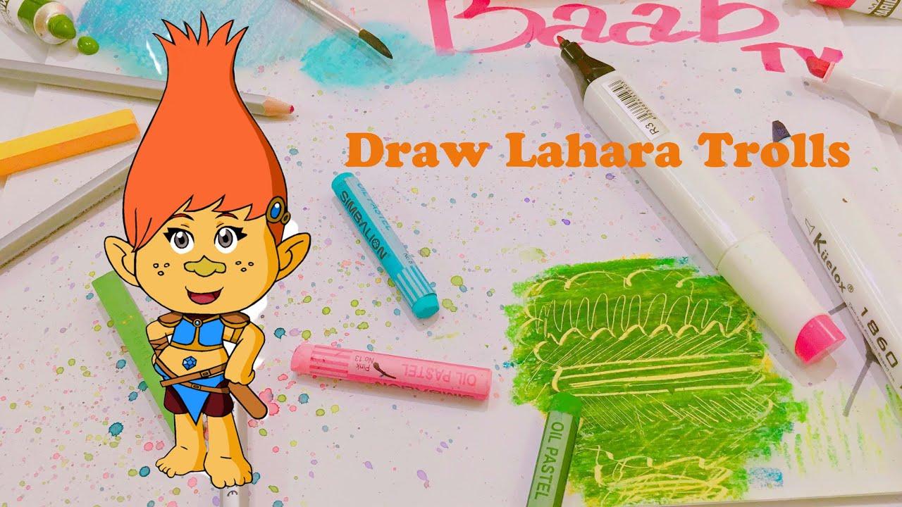 how to draw trolls movie
