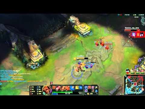 Leo Gaming - Brand đốt cả bản đồ nhá  quẩy rank gỗ đoàn