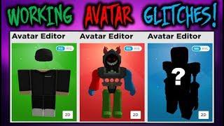 Avatar glitches that still work in 2019! (Roblox)