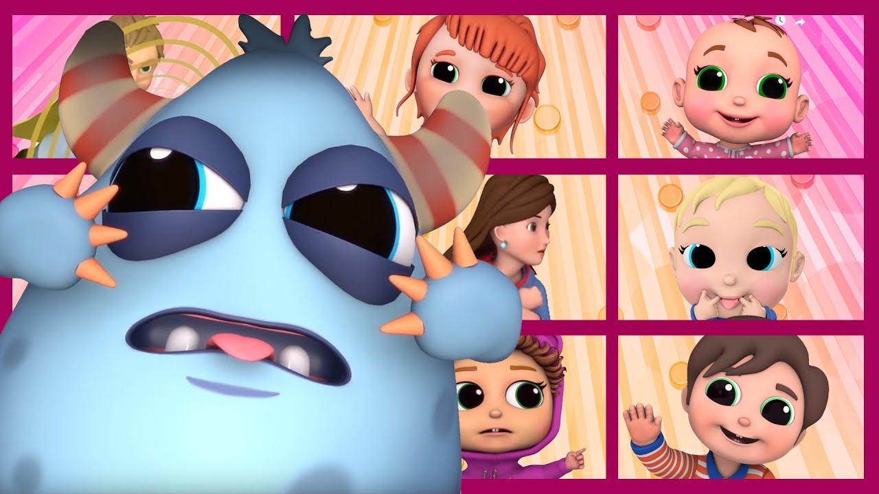 Superhero Finger Family! | Baby Joy Joy | Finger Family Songs!
