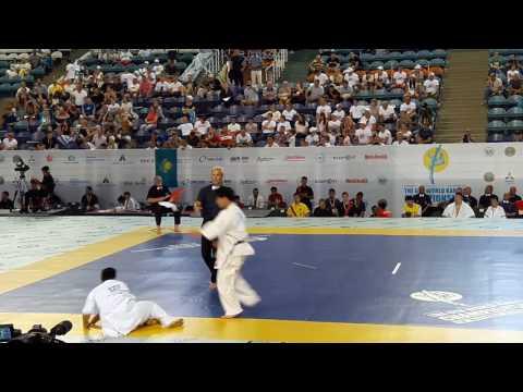 Yuki Maeda vs Mathew Ah Chow. The 6th world karate championship