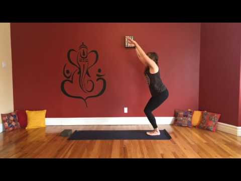 Breathe, Twist, Shake it OUT!  20min Yoga Flow with Melanie Caines
