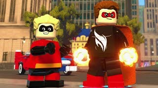 LEGO The Incredibles - New Urbem Downtown 100% Guide (All Collectibles)