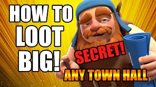 How to find big loot in clash of clans th9 - How to find big loot in coc 2018-Best location for loot