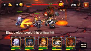 Heroes Charge LV 90 Instruction how to kill Burning Phoenix in Outland Portal 6
