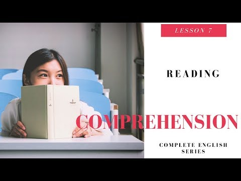Complete English Video Lesson 7 Reading Comprehension