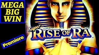 Super Rise Of Ra Slot Machine ✪ MASSIVE WIN ✪ | SUPER JACKPOT Wild Gems JACKPOT WIN |🔴PREMIERE