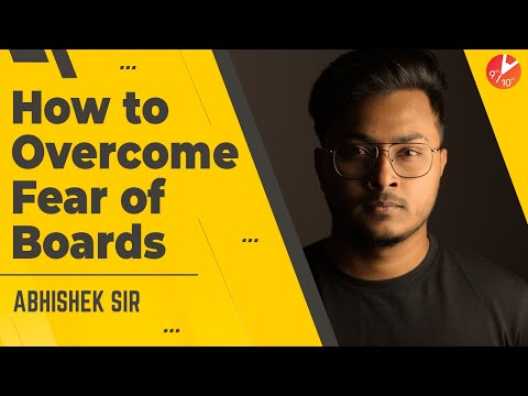 How to Avoid Exam Fear? How to Overcome Fear of Boards Exam | Avoid Exam Stress | Vedantu
