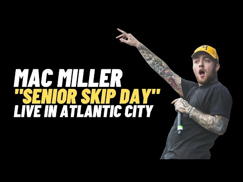 "Mac Miller ""Senior Skip Day"" Live at House Of Blues 