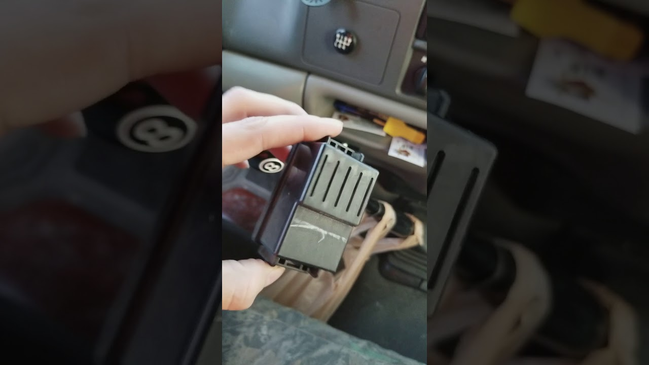Ford F 250 Super Duty Flasher Unit Relay Removal