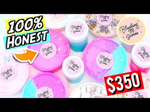 100% HONEST $350 Slime Package Review! ARE EXPENSIVE SLIMES WORTH THE MONEY?