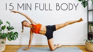 15 min FULL BODY Workout (No Equipment)
