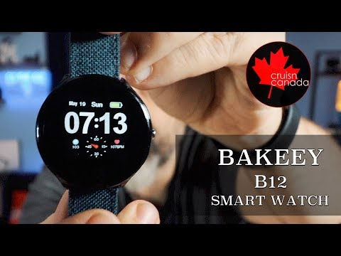 Best Chinese Smartwatch in 2019? Bakeey B12 First Look and Review