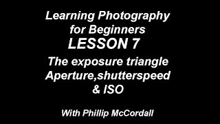 Lesson 7 photography for beginners