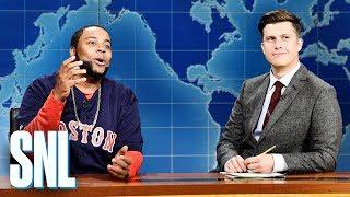 Weekend Update: David Ortiz on Getting Shot - SNL