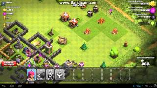 Clash of clans attacco con 39 stregoni al 4 11 arceri al 4