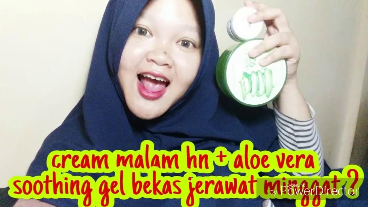 Cream Malam HN + Aloe Vera Soothing Gel Bekas jerawat ...