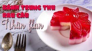 Cách làm bánh Trung thu rau câu nhân plan cực đẹp | Siêu Thị ĐVP Market