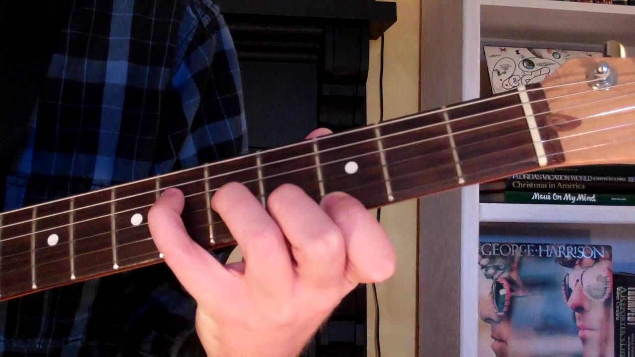 How To Play The Abmaj7 Chord On Guitar A Flat Major Seventh 7th