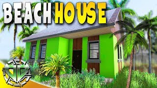 House Flipper Gameplay : BURNED HOUSE TO BEACH HOUSE! : PC Lets Play