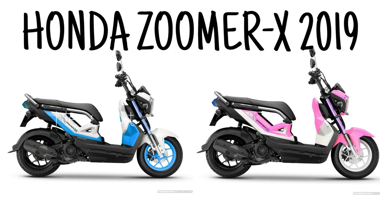 2019 Zoomer X All New Honda Zoomer X 2019 Youtube
