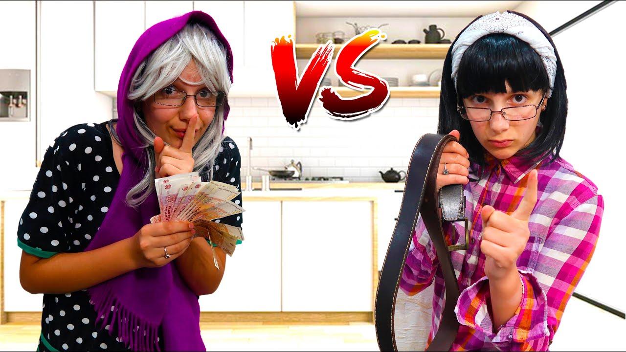 Viata lui Irochka cu Mama VS Bunica