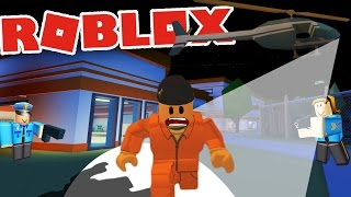 JAILBREAK IN ROBLOX! | Let's Play Roblox Jailbreak Gameplay (Jailbreak Prisoner Gameplay)