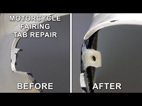 Fix Broken Tabs On Motorcycle Fairings - Fairing Repair