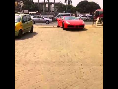 Farreri 488 Italia in Ghana