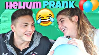 Helium Ballon Drive Through PRANK! *FUNNY*