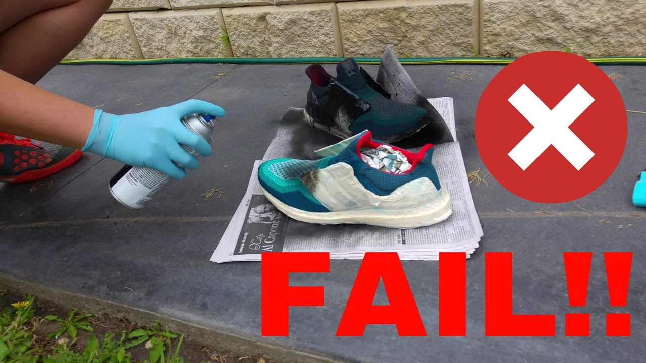 heiß HOW TO DESTROY AN ULTRA BOOST! | Failed Ultra Boost Custom  spare mehr