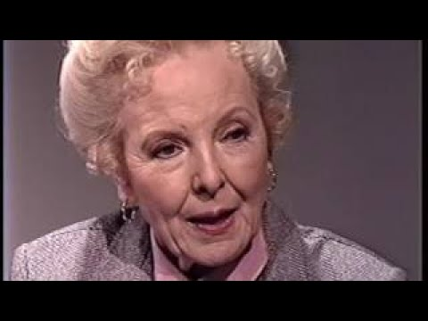 Anna Lee 1987 TV Interview, John Ford, General Hospital, Baby Jane