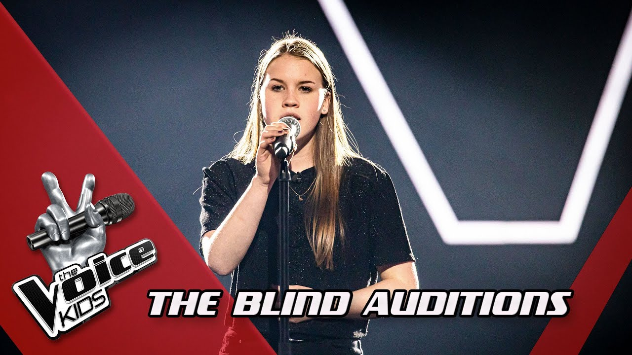 Tiany Creep Blind Auditions The Voice Kids Vtm Youtube