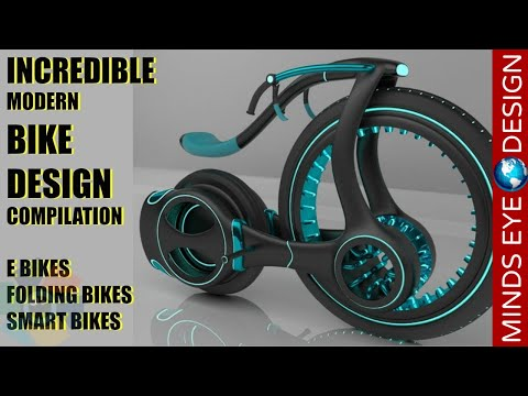 Thumbnail: INCREDIBLE MODERN BIKE DESIGN COMPILATION - CRAZY & COOL BIKES 🚲