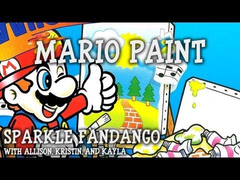 Sparkle Fandango Episode 10 - Let's Play Mario Paint